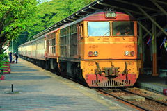 Railway of Thailand royalty free stock photography