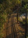 Railway to Corcovado Stock Photography