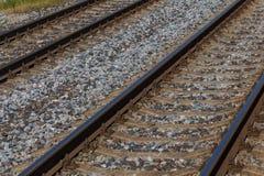 Railway to horizon Stock Photos