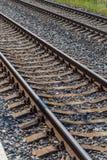 Railway to horizon Stock Image