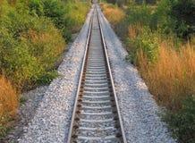 Railway to infinity Royalty Free Stock Photos