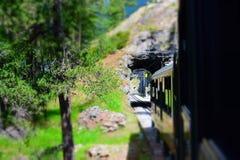 Railway to Matterhorn, Valais, Switzerland. Railway from Zermatt to Matterhorn, Switzerland royalty free stock photography