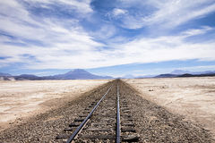 Railway to nowhere Stock Images