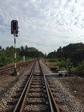 The railway Royalty Free Stock Image