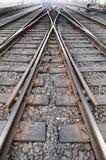 Railway track Royalty Free Stock Photography