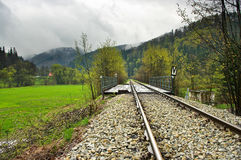 Railway track Stock Photography