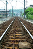 Railway Track. A railway track stock image
