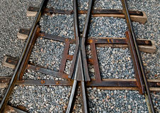The Railway track Stock Photography