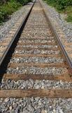 railway track Στοκ εικόνα με δικαίωμα ελεύθερης χρήσης