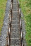 Railway Track From Above Royalty Free Stock Photo