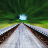 Railway track Royalty Free Stock Photos