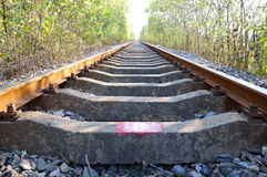 Railway track Stock Photos