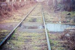Railway track Royalty Free Stock Photos