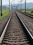 Railway track Royalty Free Stock Photo