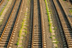 Railway track. Stock Photography
