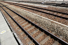 Railway track Royalty Free Stock Images