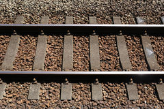 Railway track Stock Photo