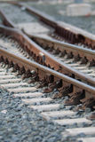 Railway track junction Royalty Free Stock Photography