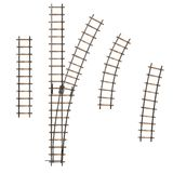 Railway track parts Royalty Free Stock Photography