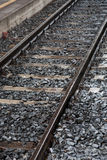 Railway Track and Train Stock Photos