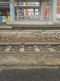 Railway track Stock Image