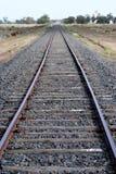 Railway tracks. Outback NSW, Australia Stock Image