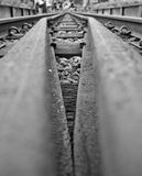 Railway Tracks. Different perspective on the railway tracks Royalty Free Stock Photos