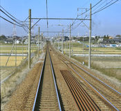 Railway tracks Stock Photo