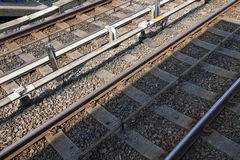Railway tracks Stock Image