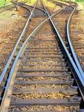 Railway tracks Stock Photography
