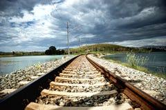 Railway tracks Stock Image