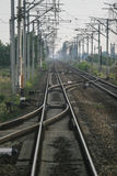 Railway tracks Royalty Free Stock Images