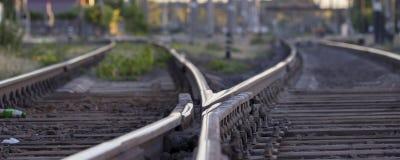 Free Railway Tracks, High-speed Rail Railway Pointwork Royalty Free Stock Photography - 118395817