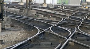 Free Railway Tracks: Junction Stock Photo - 1957690