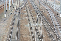 Railway tracks. Stock Photography
