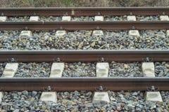 Railway tracks perspective Stock Photography