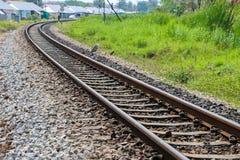 Railway tracks Stock Photo