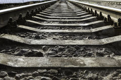 Railway Tracks Royalty Free Stock Image