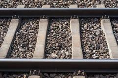 Railway tracks. Small portion of railway tracks Royalty Free Stock Image