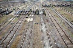 Railway traffic centre Stock Photo