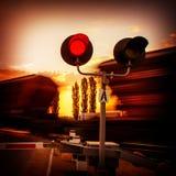 Railway traffic Stock Image