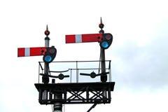 Railway Train Signals. Stock Images