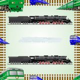 Railway transport Stock Image