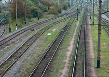 Railway transport Stock Photos