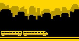 Railway transport background Stock Image