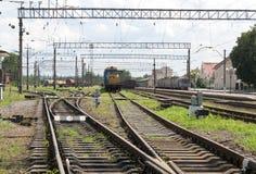 Railway transport Royalty Free Stock Photos