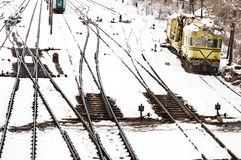 Railway transportation Stock Image