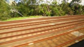 Railway travel stock footage