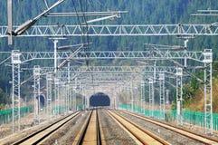 Railway tunnel royalty free stock photos