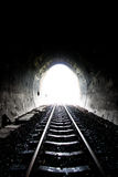 Railway tunnel in Thailand Stock Image